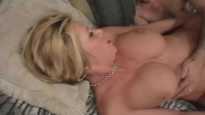 Busty Milf Nailed iN her Shaved Pussy