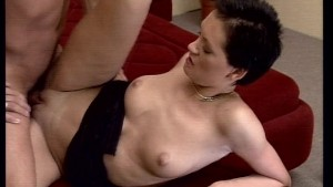 Shagging Her Shaved Pussy