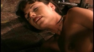 Tranny with big titties uses her big dick to screw her man(clip)
