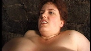 Mature BBW boned in the wine cellar
