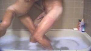 Couple Fucks in Bathtub