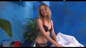 Angela gives massage
