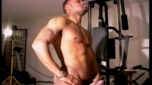 He Likes Touching His Big Black Cock - Just Fine Productions