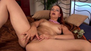 Tamara sticks a dildo inside - CzechSuperStars