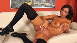 Amazing sensual brunette solo - CzechSuperStars