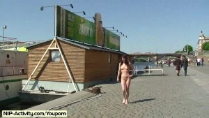 Spectacular Public Nudity With Crazy Girl Rossa