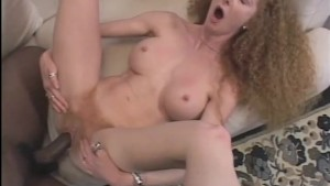 Redhead Sucks a Huge Black Cock - Pandemonium