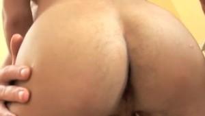 Robert Gets His Ass Split Wide Open