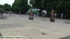 Spectacular Public Nudity With Linda And Agnes