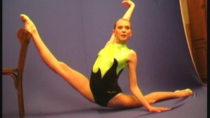 Ballerina Marina posing at flexiangels