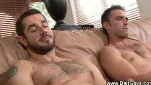 Straight and gay guys getting naked