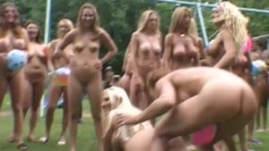 Nudes a Poppin Festival Magazine Shoot