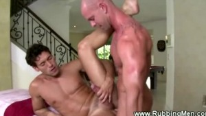 Straight dude accedes to fuck gay ass