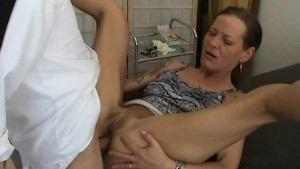 Mature amateur wife anal fuck with creampie