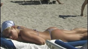 Hot Naked Girls on South Florida Beaches Part 1