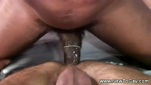 Virgin white ass fucked by black cock