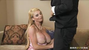 Big-tit blonde MILF fucks judge at the annual cupcake competition