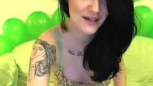 rish emo hottie, beer and webcam