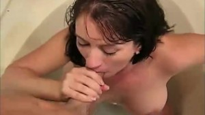 Naughty MILF Sandy Fucks Son's Friend!