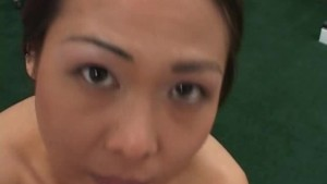 Naughty Asian cock sucker in the doctor's office