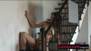 Zuzinka's hot blow job action