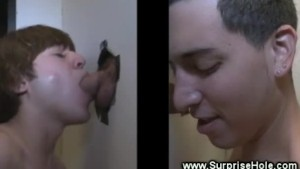 Young straight guy fooled by twink lips