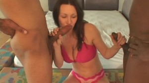 Hubby Shares Hot Wife With Black Guys