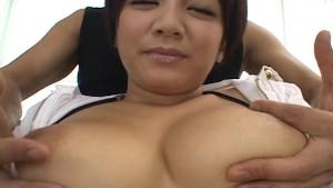 Cute Meguru Kosaka big tits action