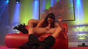 incredible fuck on show stage