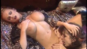 Busty babes fuck by candle light - Bizarre