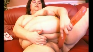 All Natural BBW Licks Her Own Tits - Julia Reaves