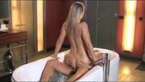 DaneJones Sex in the bath with blonde babe