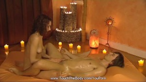 Intimate lingham massage