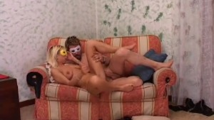 Real Italian Masked Couple - Piston Exclusive