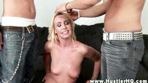 Debbie Dial cant wait for her two cocks she gets to fuck and suck