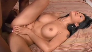 Big titted asian girl takes bbc in the butt - Black Market