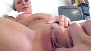 European blonde with big tits gets fucked hard - Sascha Production