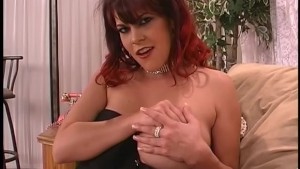 Rebecca shows off her huge tits and masturbates - Fya Independent