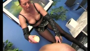 Hot dominatrix loves using wax - SMALL TALK