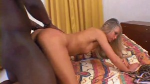 Tiny blonde takes a BBC in all holes - Combat Zone