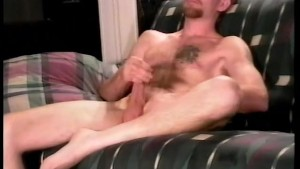Hairy Sexy Beast Jerking Off - John Fantasy