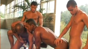 Hunks Have Hot Foursome - The French Connection