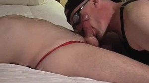 Leather Flavoured Cock Sucking - Pig Daddy Productions