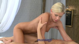 Massage Rooms Lola rides both male and female clients with her tight bald pussy