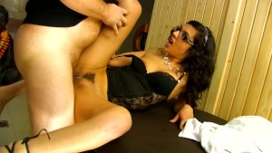Hot nerdy babe gets a good dicking - Kemaco Studio