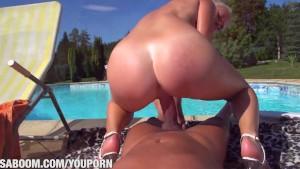 Cathy Andersons Poolfuck at Saboom