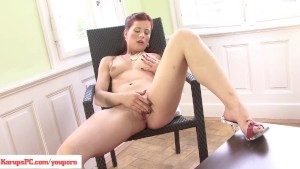 Redhead Lacey Kirscuner Masturbating