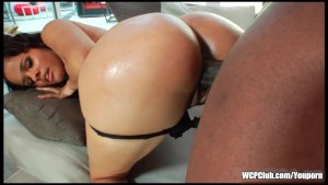 Big booty talking ebony slut