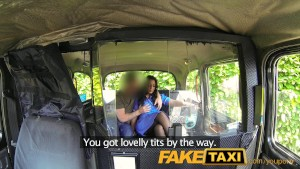 FakeTaxi Horny nurse loves a big cock