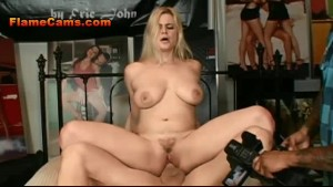 Sexy Big Tit Blonde Rides Cock